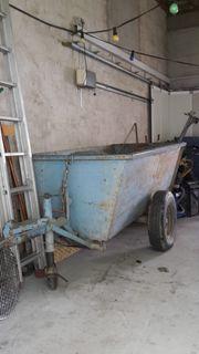 Verkaufe Anhänger für Traktor