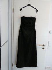 Abendkleid lang schwarz Gr 40