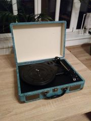 Schallplattenspieler Suitcase Bluetooth Turntable Player