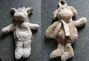 schöne Kinderrucksäcke - Esel und Hund -