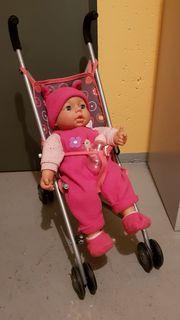 Verkaufe Puppe mit Geräuschen und