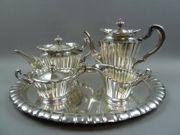 Wilkens Silberservice Kaffeeservice 800 und