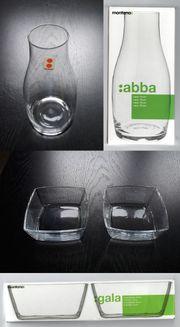 montana Glas Vase abba Schälchen