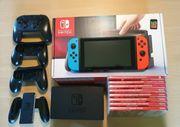 Nintendo Switch Konsole inklusive spiele