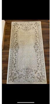 Teppich in Creme Weiß
