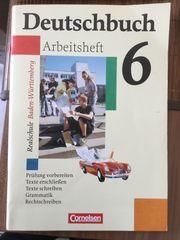 Deutschbuch Arbeitsheft 6 von Cornelsen