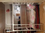 Weißes IKEA Kinder Jugend-Hochbett neuwertig