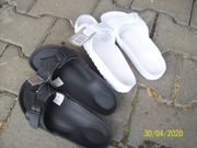 Sandalen mit Fußbett Neu Weiß