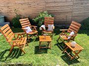 Gartenstühle aus Buchenholz massiv Marke