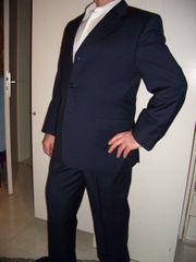 Anzug Blau Größe 52