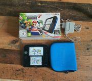 Nintendo 2DS 73 Spiele Luma