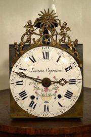 Schöne Comtoise Uhr Sonne Burgunderuhr