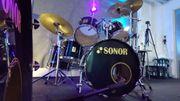 Schlagzeug mit Hardware Sonor Force