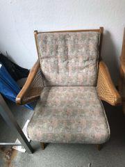 2 Sessel 50er 60er Jahre