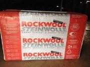 Steinwolle Rockwool 2 Pakete und