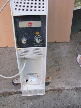 Radial Heizkörper mit 2000 Watt Automatik und Thermostat an Lichtstrom