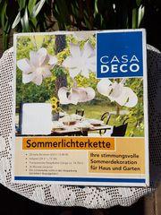 Bildschöne Sommerlichterkette von Casa Deco