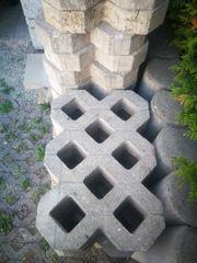 Rasengitterstein 40 stk Gebraucht