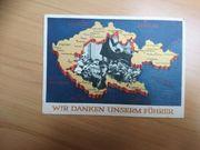 Ganzsache Postkarte Dr Reich Wir