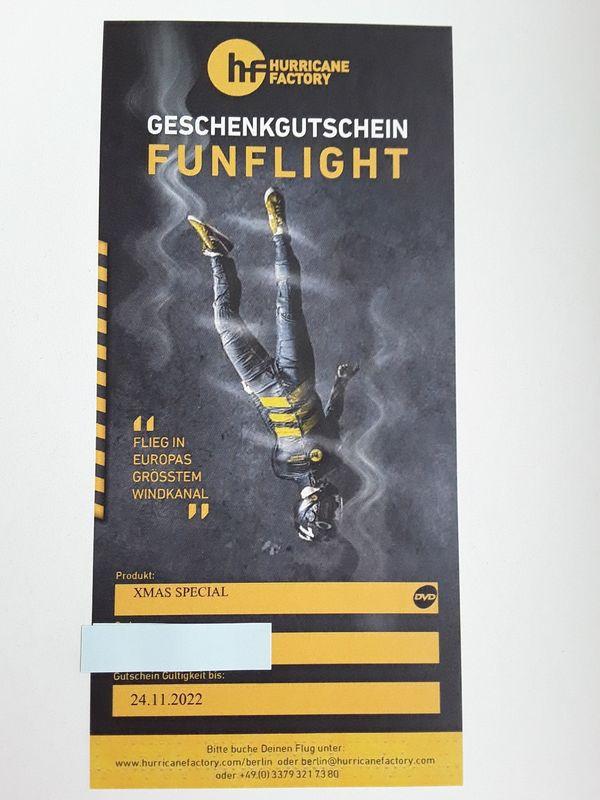 Bodyflying in Berlin - 2 Gutscheine