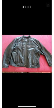 Harley Davidson Lederjacke 3XL