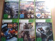 Diverse Xbox 360 Spiele