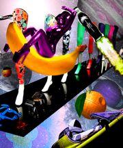 Pop Art Collage auf Leinwand