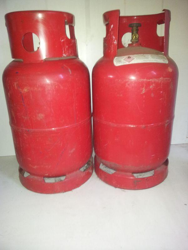 Gasflaschen - Treibgas