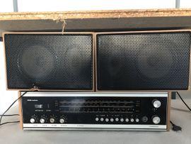REMA ANDANTE RFT-Radio mit Boxen: Kleinanzeigen aus Braunsbedra - Rubrik Stereoanlagen, Türme
