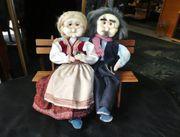 schöne Puppen Puppenpärchen Oma Opa