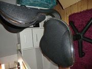 Bürodrehstuhl schwarz neuwertig