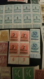 verkaufe briefmarke