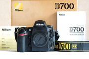 Nikon D700 Gehäuse mit Batteriegriff