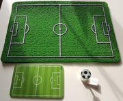 Geschenkset Fußball Fußmatte Brettchen Stöpsel