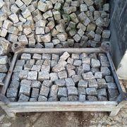 Graues kleines Granit Pflaster Naturstein