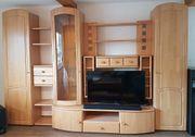 Moderne Wohnzimmer-Schrankwand