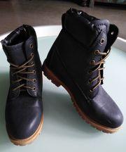 Blaue Winter-Boots Gr 38 neuwertig