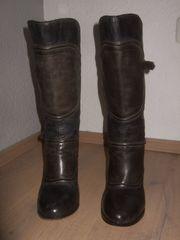 ORIG BELSTAFF STIEFEL LEDER GR 38