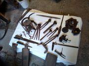 Historische Werkzeuge aus der Schmiede