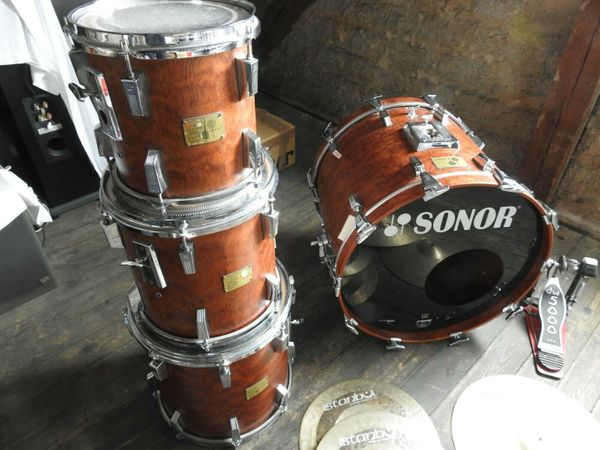 Schlagzeug Sonor Signatur Bubinga