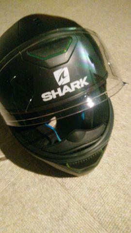 Motorrad-Helme, Protektoren - Motorradhelm Shark schwarz Gr M