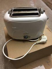 Toaster weiss ALASKA guter Zustand
