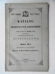 Hagenau Elsass Katalog der Gegenstände
