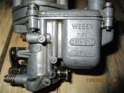 Fiat 500 Webervergaser 26 IMB