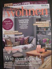 NEU ungelesen Zeitschrift zuhause Wohnen