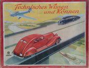 Brettspiel 30er Jahre Technisches Wissen