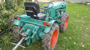 Holder AM 2 Knicklenker Schmalspurtraktor