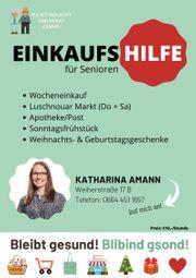 Einkaufshilfe für Senioren in Lustenau