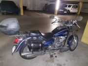125 ccm Chopper Motorrad