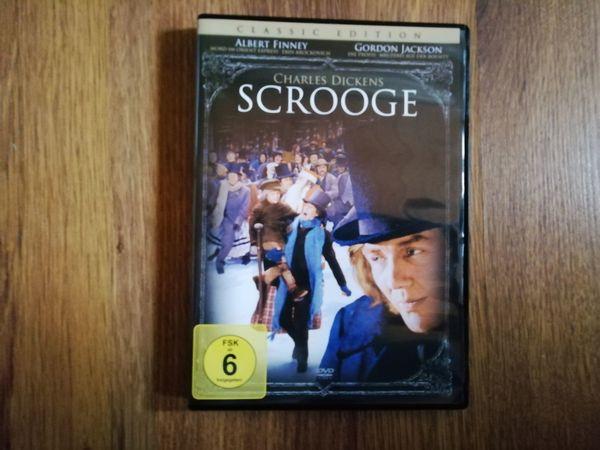 Scrooge mit Albert Finney DVD